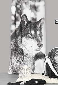 Rideau panneau - 140 x 240 cm - Loup