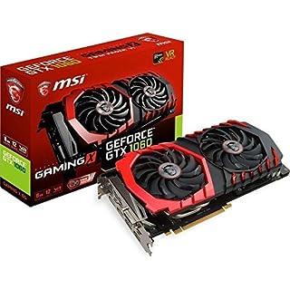 MSI NVIDIA GeForce GTX 1060 GAMING X 6 GB GDDR5 Memory PCI Express 3.0 Graphics Card - Black