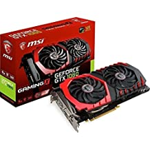 MSI NVIDIA GTX 1060 Gaming X 6G Grafikkarte (HDMI, DP, DL-DVI-D, 2 Slot Afterburner OC, VR Ready, 4K-optimiert)