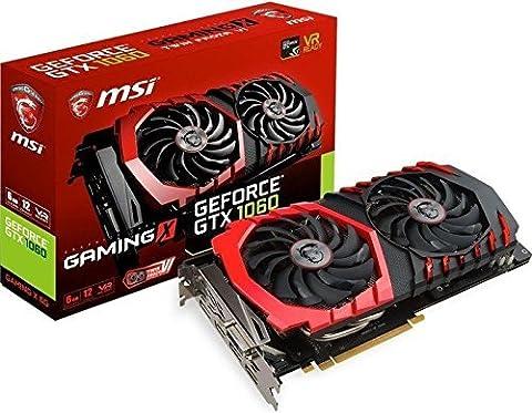 Geforce Titan X - Carte Graphique MSI GeForce GTX 1060 Gaming
