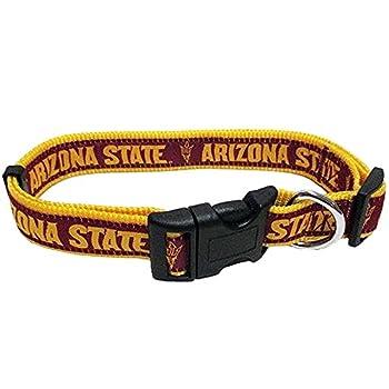 NCAA pour animal domestique col. 50Universités Disponible en 3tailles. robuste, solide, durable et NCAA réglable Collier de chien. 15Collegiate Gear pour le ventilateur de 4pattes Sports.