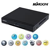 KKmoon 8 Canales DVR 960H D1 Grabador de Video H.264 HDMI Reproducción de Vídeo Detección de Movimiento Zoom Digital