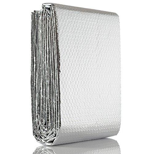 Aislante para Chimeneas - Lana de Roca con Aluminio