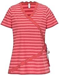 adonia mode Raffinierte Wickel-Tunika Shirt , Gr. 48/50 - 60/62