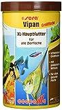 sera 00175 vipan Großflocken 1000 ml - der Klassiker - Hauptfutter für alle Zierfische in Gesellschaftsaquarien