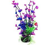 Planta artificial para el acuario, Simulación Flor acuática de la hierba para el paisaje del tanque de pescados