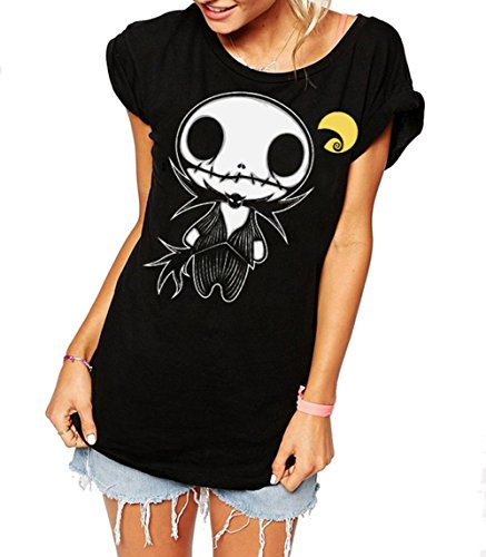 camiseta-de-mujer-negra-jack-negro-xs