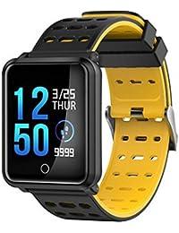 QAR Inteligente 1.3 Pantalla Reloj Frecuencia Cardíaca Presión Arterial IP68 Impermeable Anti-pérdida Ejercicio Sueño