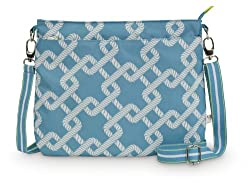All For Color Coastal Link Tablet Crossbody Bag