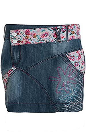 Joe Browns Damen Kleid Jeans-Rock Sommer-Rock Blau 179933, Größenauswahl:L / 40 (Brown Kleid Jeans)
