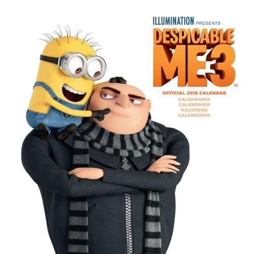 Despicable Me 3 Official 2018 Calendar - Square Wall Format Europe Multi Language Edition