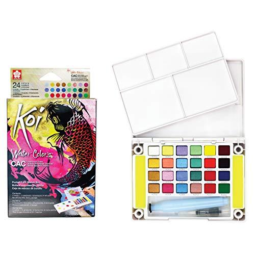 Sakura Koi aquarel box 24 metallic napjes -
