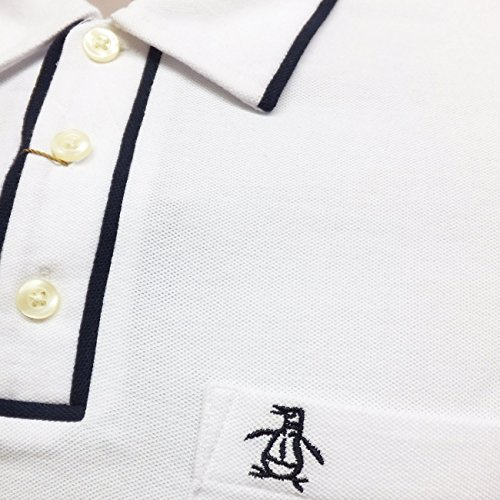 Earl Penguin Herren Polo Shirt New Smart und leger Polo'New S, S, M, L, XL Weiß - Weiß