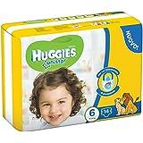 Huggies - Unistar - Pañales - Talla 6 (15 - 30 kg) - 14 pañales