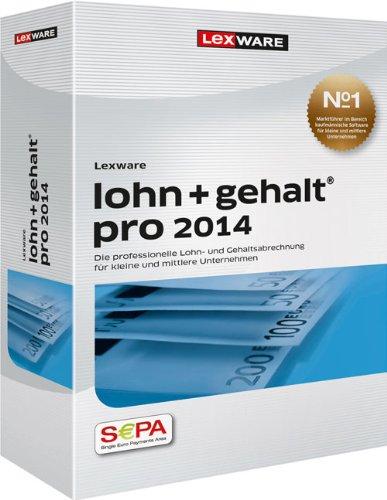 Preisvergleich Produktbild Lexware Lohn+Gehalt Pro 2014 (Version 14.00)