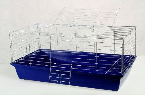 Nagerkäfig,Hasenkäfig,Meerschweinkäfig,Käfig,Rabbit,Zwergkaninchen ca. 100x54x43cm