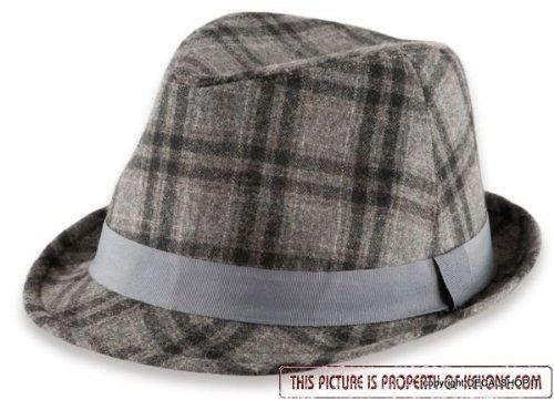 dakota-grigio-tg-l-xl-58-61cm-cappello-feltro-di-lana-trilby-fedora-panno-berretto-inverno