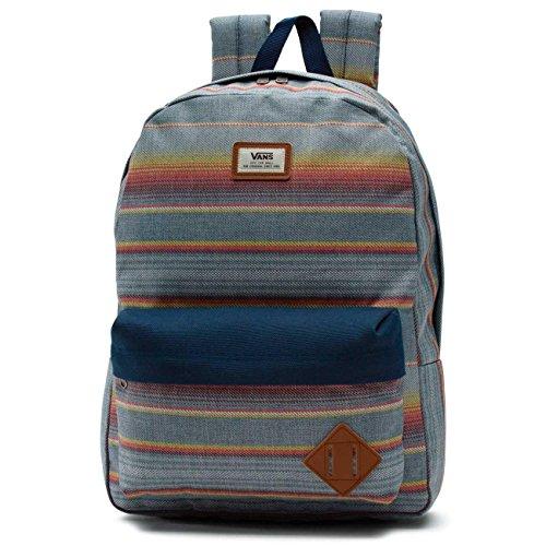 510hNM1IdCL - Vans - Old Skool II, Bolsa de Medio Lado Hombre, Multicolor (Hula Stripe), Talla Unica