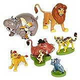 #4: Civil Collection The Lion Guard 6 Piece Figurine Playset - Kion Pumbaa Simba Figures Play Set