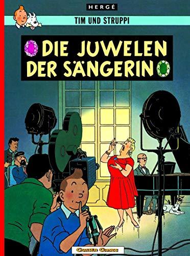 Tim und Struppi, Carlsen Comics, Neuausgabe, Bd.20, Die Juwelen der Sängerin (Klassiker Juwelen)