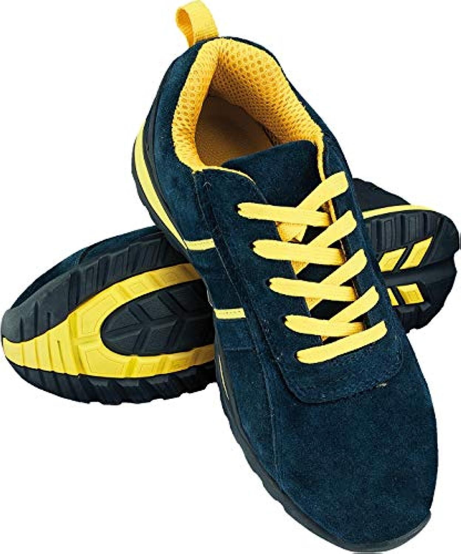 Scarpe Scarpe Scarpe Antinfortunistiche da Lavoro, Scarpe Antinfortunistiche, con Punta in Acciaio, Blu Giallo, Taglia 36-48 | Durevole  0e4581