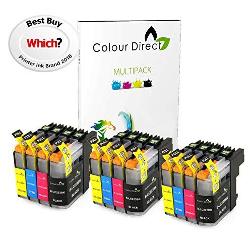 Colour Direct 12 LC223 Compatibile Cartuccia D'Inchiostro Sostituzione per Brother DCP-J4120DW, MFC-J4420DW, MFC-J4620DW, MFC-J4625DW, MFC-J5320DW, MFC-J5620DW, MFC-J5625DW, MFC-J5720DW Stampante