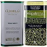 Cazorla Picual 5 L Kanister (Säure 0,3%) und Olipaterna 5 L Kanister (Säure 0,3%) Kaltgepresstes Extra Natives Olivenöl aus Andalusien | 100% natürliches & reines Olivenöl für Feinschmecker