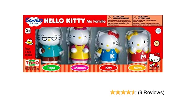 79cad872f Hello Kitty and Family Figures: Amazon.co.uk: Toys & Games