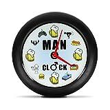MostroMania - Orologio per Uomini'Man Clock' con Suoni - Orologio Divertente con...