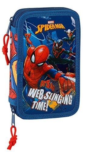 Spiderman 2018 astuccio, 20 cm, 1 liters, blu (azul y rojo)