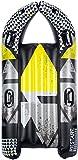 Aufblasbare sneeuwglijder Downhill Racer 150 cm grau