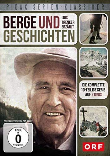 Berge und Geschichten Luis Trenker erzählt (Pidax Serien-Klassiker) [2 DVDs] - Geschichte-porträts