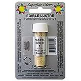 24 x Sugarflair OR PASTEL Lustre Couleur Poudre Comestible pour Glacage Gateaux