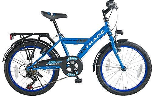 20 Zoll Kinder City Jungen Fahrrad Bike Rad Kinderfahrrad Citybike Cityfahrrad Cityrad 7 Shimano Gang Dynamic Blau TYT19-037 (20-zoll-fahrräder Für Kinder)