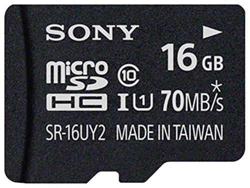 Sony SD 16GB Class 10 Micro Memory Card