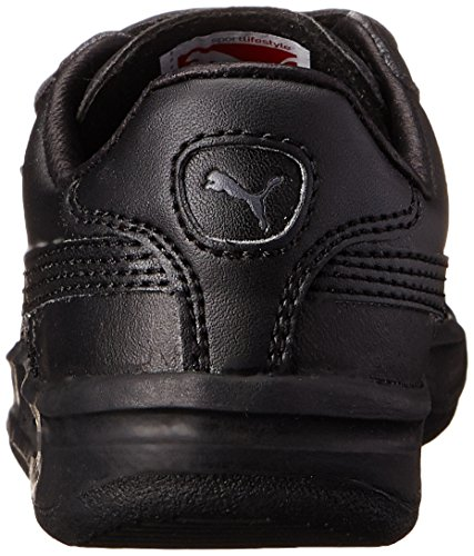 Puma G. Vilas L2 V Cuir Baskets Black-Steel-Gray