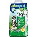 Biokat's Classic fresh 3in1, geurend - Klontvormende kattenbakvulling met korrels in 3 verschillende groottes - 1 zak