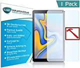 Slabo Premium Panzerglasfolie kompatibel mit Samsung Galaxy Tab A 10.5 (T590 | T595) 2018 Panzerfolie Schutzfolie Echtglas Displayschutzfolie Folie Tempered Glass KLAR - 9H Hartglas