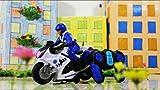 #10: FunBlast™ RC Police Patrol Motorcycle Remote control Motor Bike for Kids, Multicolor