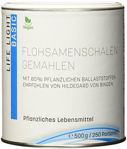 flohsamenschalenpulver apotheke Life Light Flohsamenschalen gemahlen (500 g)