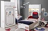 Cilek FIRST CLASS 3 Kinderzimmer Set Komplettset Schlafzimmer Spielzimmer Weiß