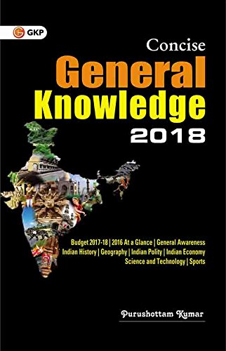Concise General Knowledge 2018 price comparison at Flipkart, Amazon, Crossword, Uread, Bookadda, Landmark, Homeshop18