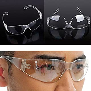 AUAUDATE Clear Lab Anti Fog Dust Wind Smoke Eye Protective Glasses Goggles Vented Safety Medical or Outdoor Use