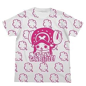 T-shirt Blanc Candy Cotton Taille d'une seule pi?ce broyeur: XS (japon importation)