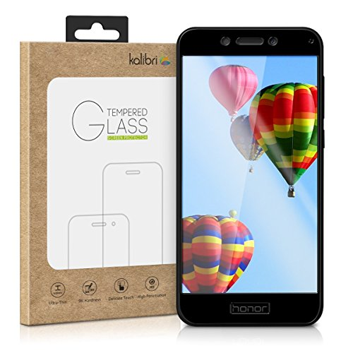 kalibri-Echtglas-Displayschutz-fr-Huawei-Honor-6A-6A-Pro-EU-China-Version-3D-Schutzglas-Full-Cover-Screen-Protector-mit-Rahmen-Glas-Folie-auch-fr-gewlbtes-Display-in-schwarz