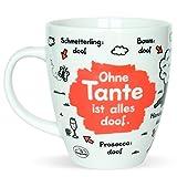 Die besten Tante in den Welten - Sheepworld 45137 Tee-Tasse mit Motiv Ohne Tante ist Bewertungen