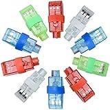 Syolee - 20 luces LED para los dedos, linterna superbrillante para los dedos, ideal para fiestas de niños.