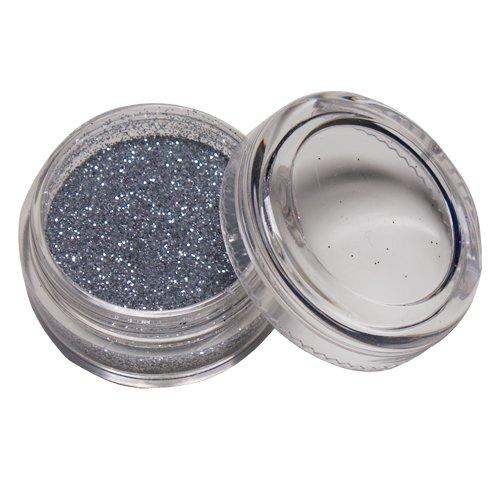 Skinjee Tatouage - Paillettes Glitter corporelles Argent Silver Ladot - Accessoire Beaute Maquillage pour Corps Visage
