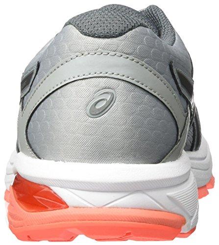 Asics Damen Gt-1000 6 Gymnastikschuhe Grau (mid Gray / Carbon / Flash Coral)