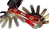 Klixxo Porte-clés | Le porte-clés intelligent avec ouvre-bouteille pour tous les types de clés communes